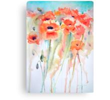 Poppy Field Canvas Print
