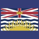 British Columbia Flag by cadellin
