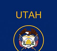 Smartphone Case - State Flag of Utah II by Mark Podger