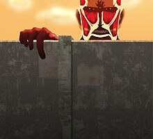 Colossal Titan Phone Case by karentdq