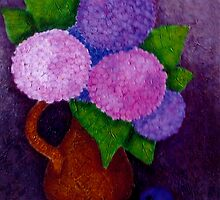 Hydrangeas by Madalena Lobao-Tello