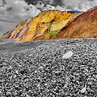 Life Is Good On The Beach - Alum Bay - I.O.W. by Colin J Williams Photography