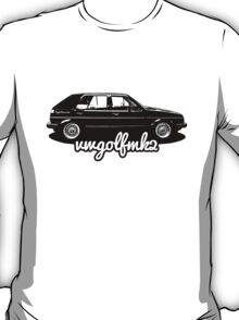 VW Golf Mk2 Appreciation T-Shirt