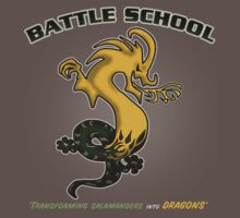 Battle School Dragon Army by AndreeDesign