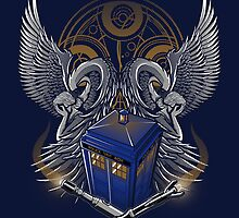Timelord and Proud - Ipad Case by TrulyEpic