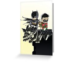 Dynamic Duo baby Greeting Card