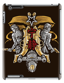 Browncoats Misbehave - Ipad Case by TrulyEpic