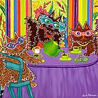 Tea At Edna's by Lisa Frances Judd ~ QuirkyHappyArt