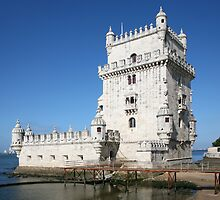 Belem Tower 1 - Lisbon by Rob Chiarolli