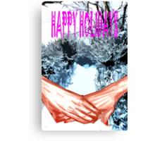 HAPPY HOLIDAYS 81 Canvas Print
