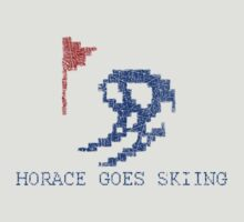 Vintage Look Retro Arcade Horace Goes Skiing by VintageSpirit