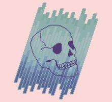 Skull Fade (Blue) by vgjunk