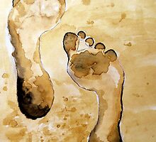 Footprints by Elizabeth Kendall