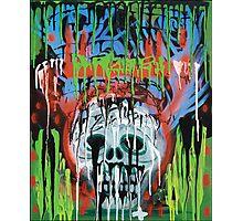Siko Skull - Modern Gothic Fantasy Photographic Print