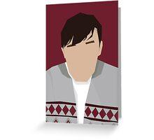 'Derek' Inspired Artwork Greeting Card