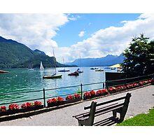Lake Wolfgang, Austria Photographic Print