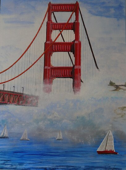 Golden Gate Bridge by Tyler Dootson