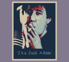 Bill Hicks - It's Just A Ride Tee by FreakMonkey