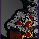 JOHN LEE HOOKER TALKING BLUES by Larry Butterworth