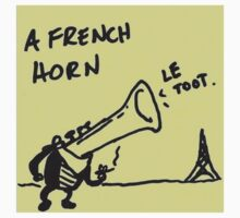 French Horn by frikafrikafresh