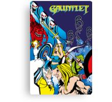 Retro - Arcade Gauntlet (1985) Canvas Print