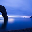 Durdle Door at Dusk by Ian Middleton