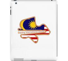 Malaysia F1 circuit iPad Case/Skin