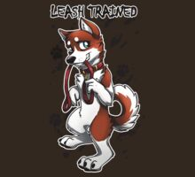 Leash Trained - Brown Husky by AylaStarDragon