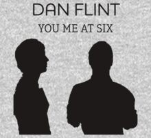 Dan Flint black silhouette you me at six by ParaFan11