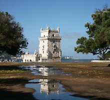 Belem Tower 3 - Lisbon by Rob Chiarolli