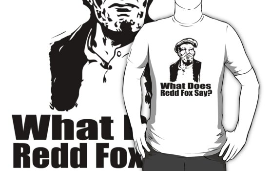 What does Redd Fox say by Brantoe