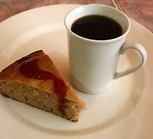 Banana Cake and Coffee by rhamm