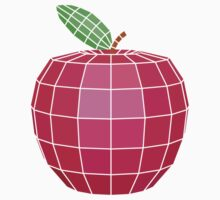 Polygonal Apple by dimair