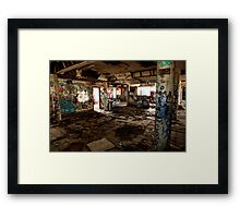 Open spaces ......... Framed Print