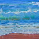 Wet & Wild II - Australia (Wave Detail) by Carole Elliott