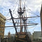 GOLDEN HIND IN DRY DOCK by Shoshonan