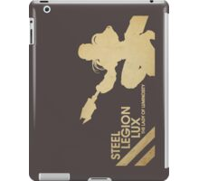 Steel Legion Lux - The Lady of Luminosity iPad Case/Skin