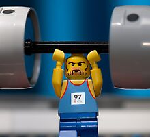 LEGO Weight Lifting by jarodface