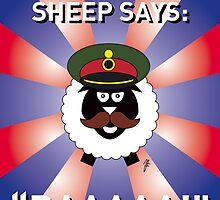 Melchett Sheep Card 1 by mjfouldes
