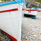 Praiano Boats by Adrian Alford Photography
