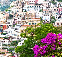 Positano Purple by Adrian Alford Photography