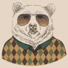 Fashion Animals - Big Bear Bill  | artwork by Olga Angelloz by ccorkin