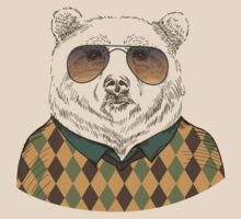 Fashion Animals - Big Bear Bill  | artwork by Olga Angelloz by ccorkin