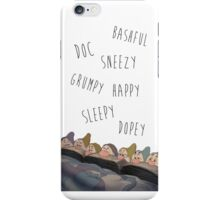 Snow White & the Seven Dwarfs iPhone Case/Skin
