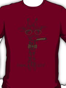 Fashion Animals - Giraffey Larry | artwork by Olga Angelloz T-Shirt