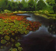 Tropical Lake by KeLu