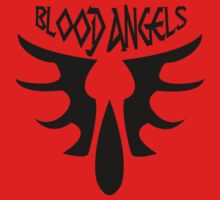 Warhammer 40k- Blood Angels Badge (Clean Ver.) by Az McAarow