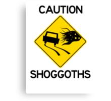 Shoggoth Crossing Canvas Print
