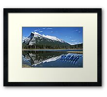 Rockies Mountains  Framed Print