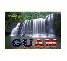 Greetings from Guam Art Print